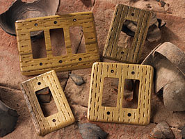 southwest switchplates home decor phoenix by rustic wood studio