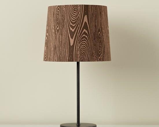 Woodgrain Table Shade -
