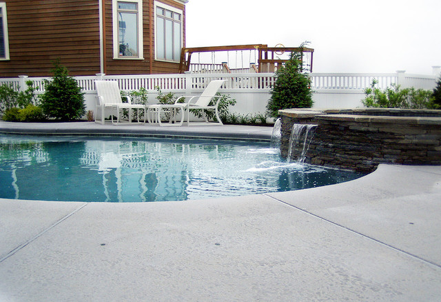 Lavallette Nj Low Profile Pool Spa Perimeter Vinyl