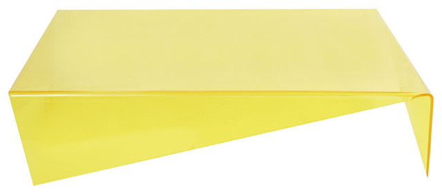 Viola Coffee Table in Yellow modern-coffee-tables