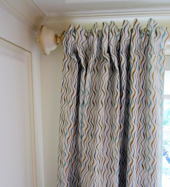 Forest Hill Residence eclectic-curtains