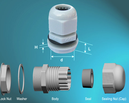 Nylon Cable Glands(Metric-L) - SPECIFICATIONS