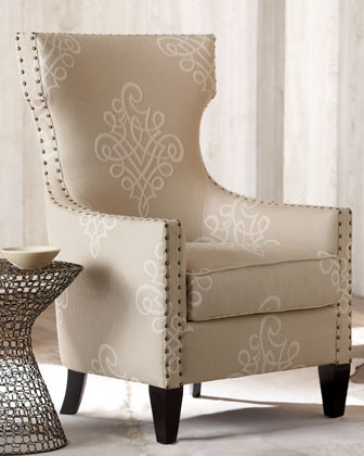"""""""Rowley"""" Chair traditional-armchairs-and-accent-chairs"""
