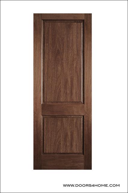 Interior Mahogany Doors Model P 620 Contemporary