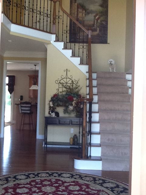 Foyers staircase