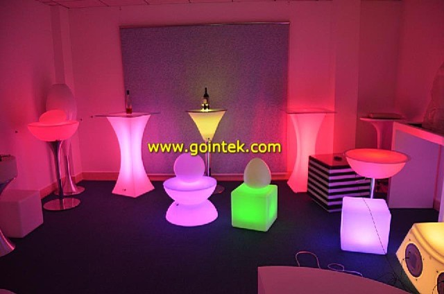 china acrylic solid surface led tables modern-indoor-pub-and-bistro-tables