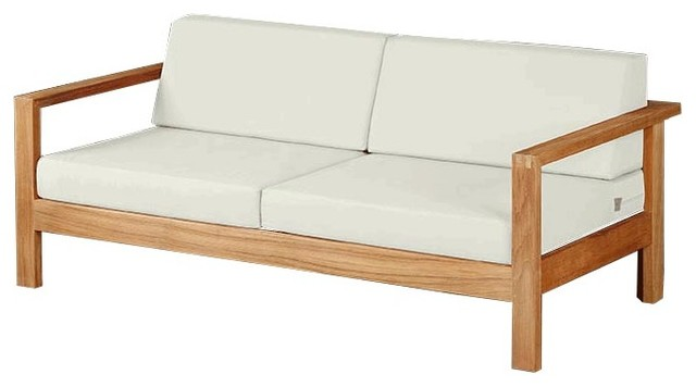 ... Settee Teak Wood Outdoor Sofa Products On Houzz