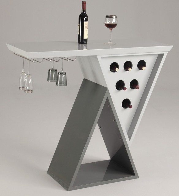 Home bar table modern wine and bar cabinets los - The benefits of contemporary bar furniture ...