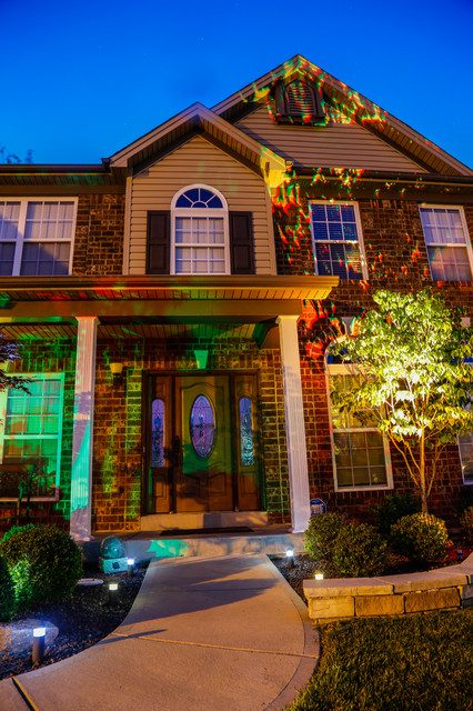 Led home exterior path and accent lighting traditional exterior st louis by super bright Exterior accent lighting for home