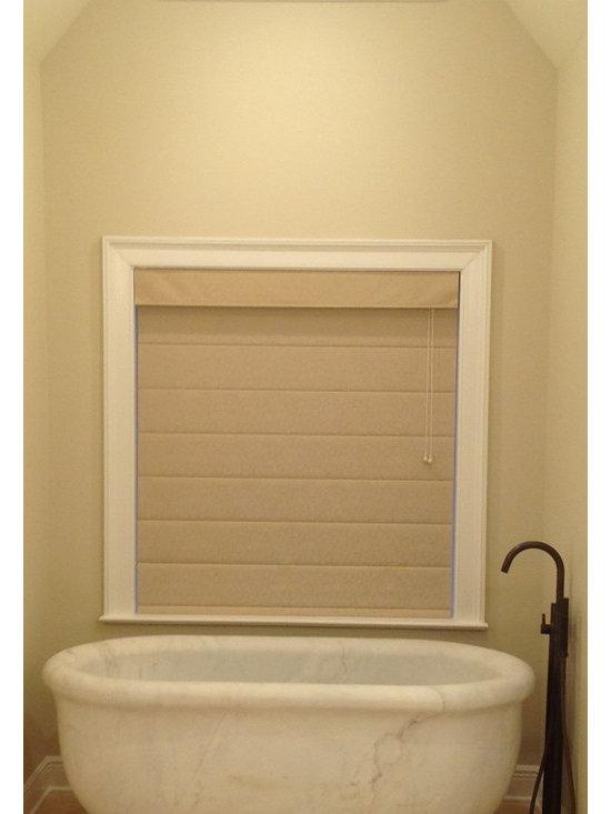 Installations - Monroe, LA- custom hand carved marble bath tub