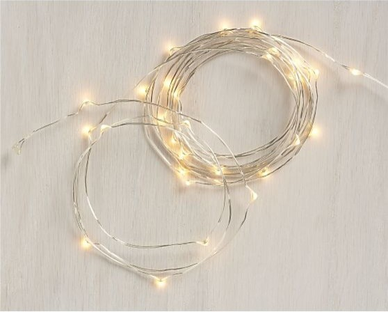 Twinkle String Lights contemporary holiday decorations