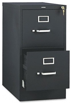 510 Series Two-Drawer Full-Suspension File, Letter, 29h x25d, Black modern-home-office-accessories