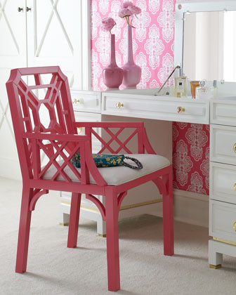 Lilly Pulitzer Home Boulevard Armchair traditional-accent-chairs