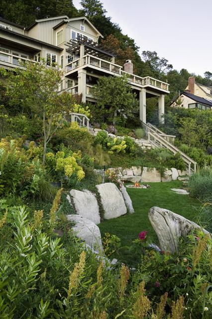 Perkins Lane Residence eclectic