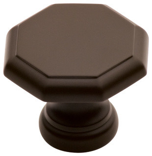 147-OA old antique octagonal cabinet knob traditional-cabinet-and-drawer-knobs