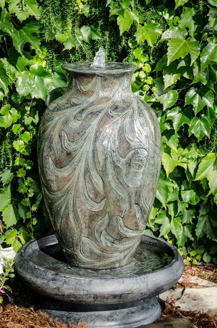 Brielle Outdoor Fountain  Contemporary  Outdoor Fountains And Ponds