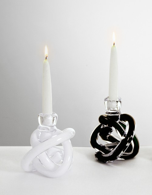 SkLO Handblown Glass Wrap Candle Holder candles-and-candle-holders