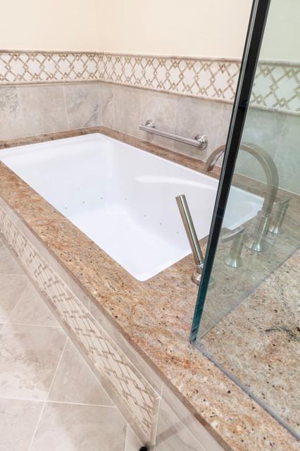 Elegant Master Bathroom traditional-bathroom