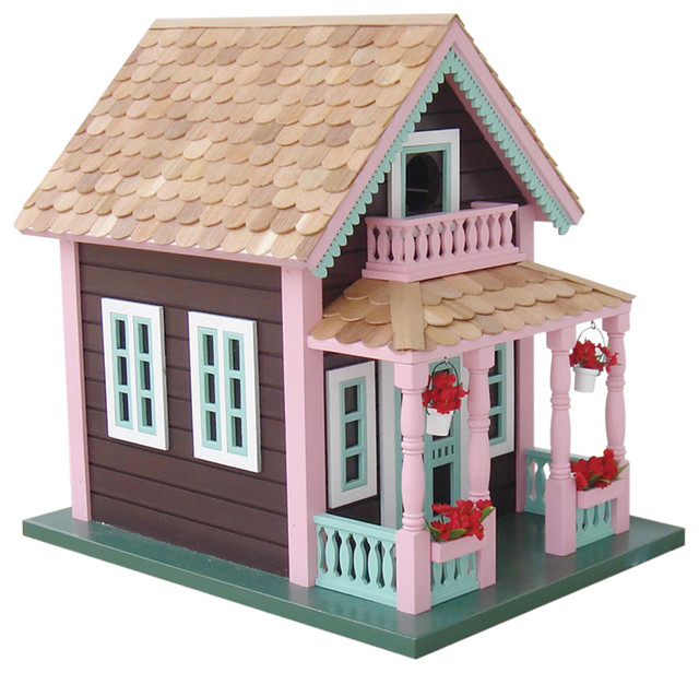 Petoskey 'Lake View' Cottage Birdhouse contemporary-birdhouses