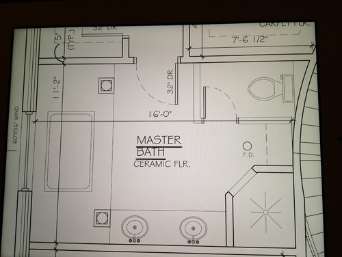 Need help with master bathroom layout and jacuzzi selection for Master bathroom jacuzzi designs