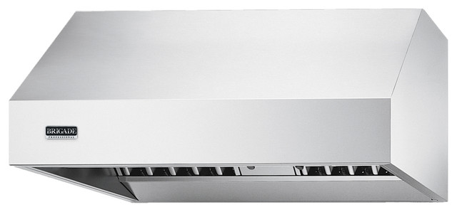 "Professional Series 60"" Wide 24"" Deep Wall Hood contemporary-range-hoods-and-vents"