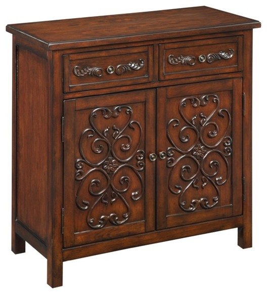 Coast To Coast - 2 Drawer and 2 Door Cabinet - 50660 traditional-dressers-chests-and-bedroom-armoires
