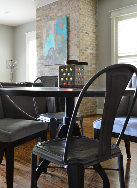 Midtown Bachelor industrial-dining-room