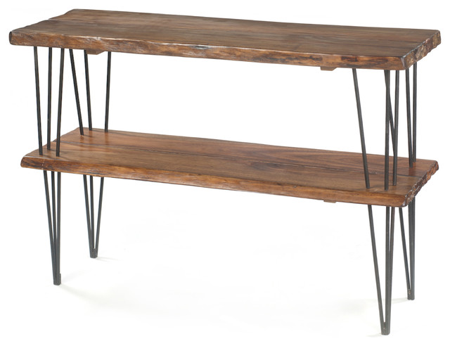 Live Edge Console Table contemporary-coffee-tables