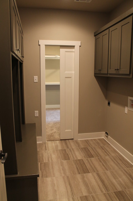 Laundry Mud Room With Access To Master Closet