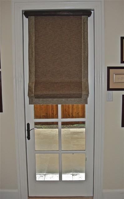 Residential Interiors Modern Roman Shades Dallas