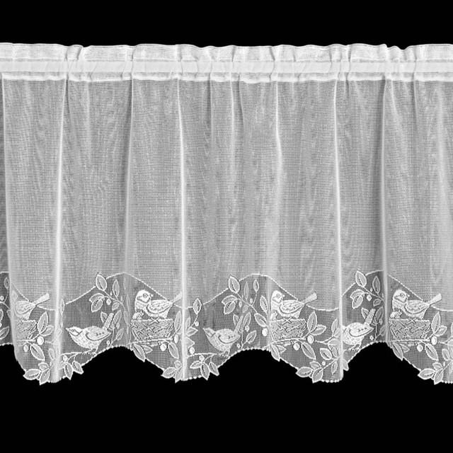 Heritage Lace Birds & Berries Tier - Modern - Curtains - by Hayneedle