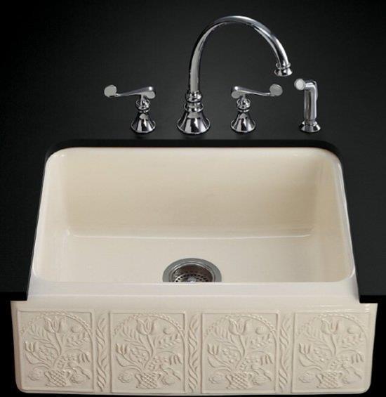 Kohler K 14572 Sv 96 Savanyo Design On Alcott Undercounter Kitchen Sink Contemporary Kitchen