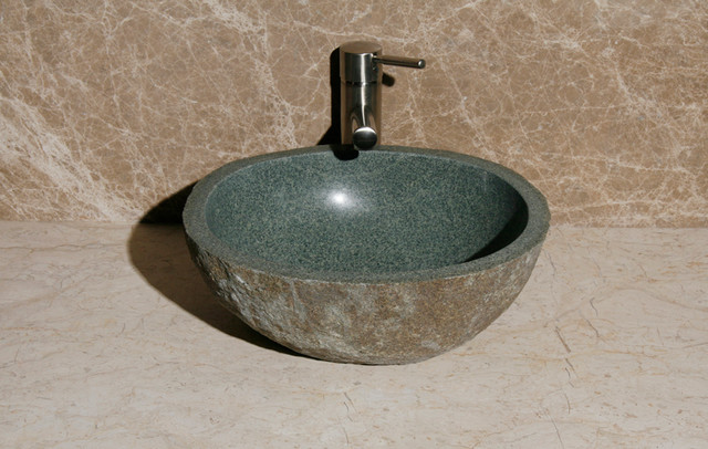 Rustic Bathroom Sinks : Natural Stone Sinks - Rustic - Bathroom Sinks - phoenix - by ...