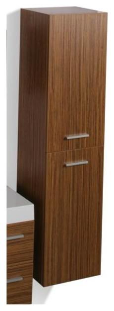 Oviedo Tall wall cabinet - Modern - Bathroom Cabinets And ...