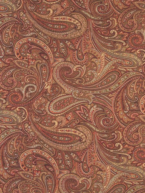 F326 Traditional Paisley Upholstery Fabric - Free sample by emailing samples@discounteddesignerfabrics.com.