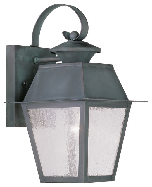 Livex Mansfield Outdoor Wall Lantern 2162-61 modern-outdoor-wall-lights-and-sconces