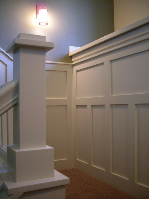 Colorado Bungalow traditional-staircase
