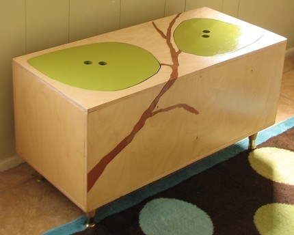 The Owyn Toy Box modern toy storage