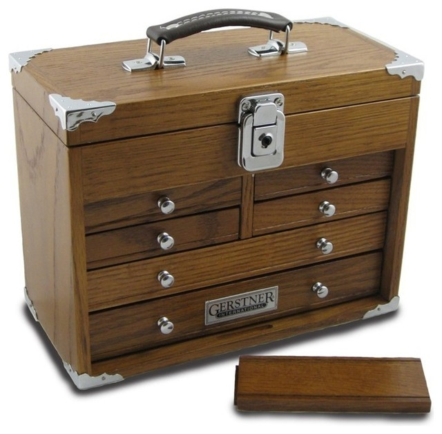 Tool Chest – Gerstner GI-511 Mini-Max Chest With Top Handle - Traditional - Storage Bins And ...