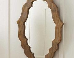 Hand-Carved Moorish Mirror mediterranean-mirrors
