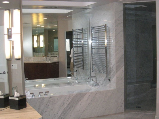 Various projects traditional-bathroom