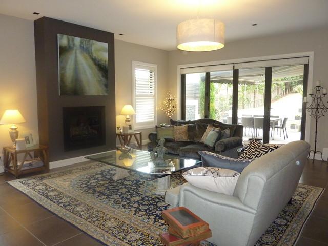 Harden Avenue, Northbridge contemporary-living-room