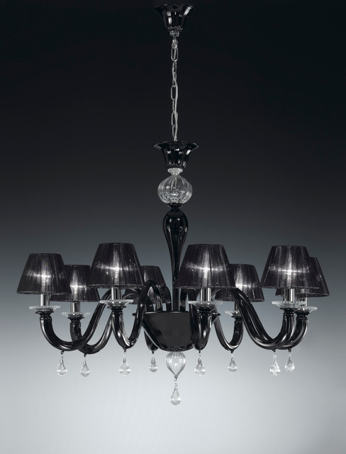 Venezia Collection, Murano glass chandeliers. modern