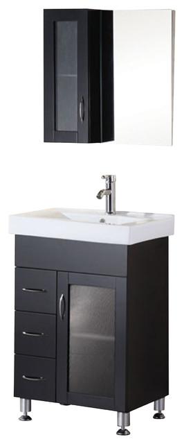 Design Elements DEC022 Vanity in Espresso modern-bathroom-vanities-and-sink-consoles