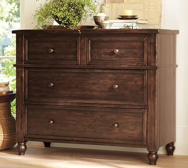 Cortona Dresser Alfresco Brown Finish Traditional Dressers Chests And Be