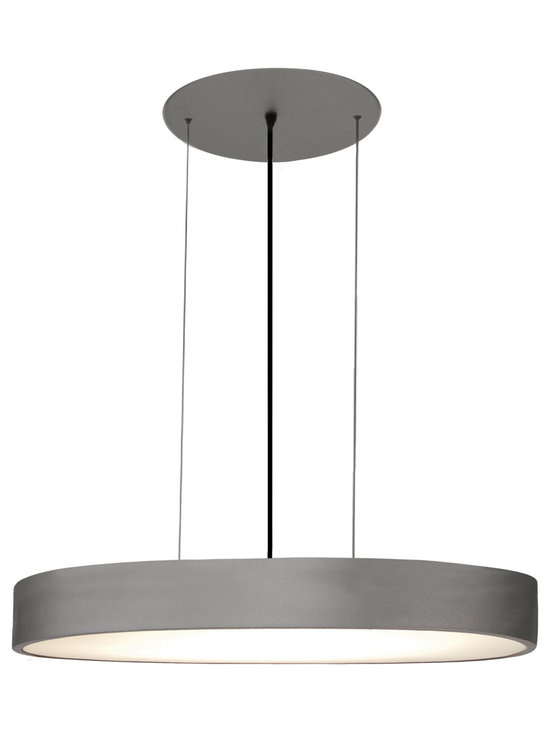 Vega Oval Suspension by Edge Lighting