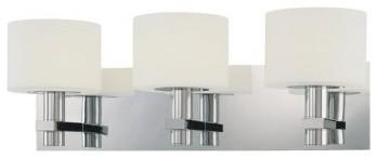 George Kovacs | Stem 3 Light Bath contemporary-bathroom-vanity-lighting