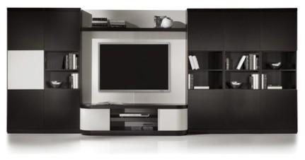 Vision V2-14 Wall Unit modern-media-storage