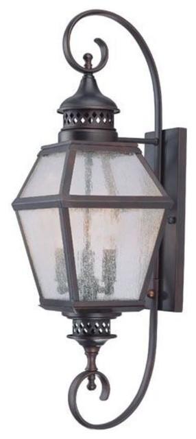 Savoy House-5-773-13-Chimnea - Three Light Outdoor Wall Lantern traditional-outdoor-lighting