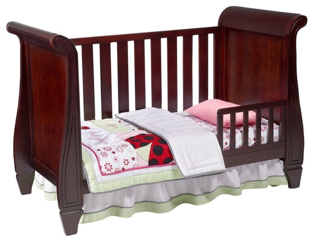 Simmons Kids Slumber Time Hutton Sleigh Crib Midnight